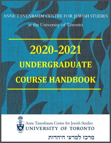 ATCJS Undergraduate Handbook 2020/2021